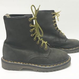 "Dr. Marten's 8 Eye ""greasy"" boots Made in England"